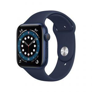 APPLE - Watch Series 6 GPS 44mm Azul com Bracelete Desportiva Azul Profundo - Regular