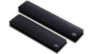 COOLER MASTER - Wrist Rest Size L Extreme Comfort Anti-Slip Easy to clean. Compatible with keyboards Xti MasterKeys Pro L RGB MasterKeys Pro L MasterKeys Lite L Combo RGB and other Full-Size keyboards