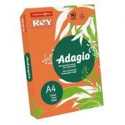 ADAGIO - Papel Fotocopia Adagio A4 80gr (Laranja Fluorescente) 1x500Fls