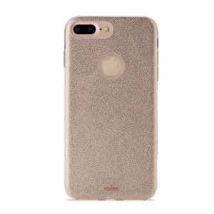 PURO - PC+TPU Shine Cover for iPhone 7 Plus Gold