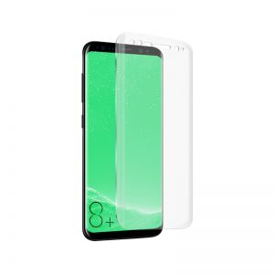 SBS - SCREEN PROTECTOR FULL GLASS ACCS ROUNDED EDGE GALAXY S8+ TRANSPR