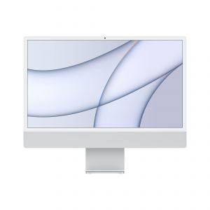APPLE - iMac 24P Retina 4.5K / Apple M1 com 8?core CPU e 8?core GPU / 256GB - Prateado