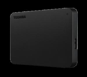 TOSHIBA - Disco Externo Canvio Basics 1TB 2.5P USB 3.0 Preto - HDTB410EK3AA