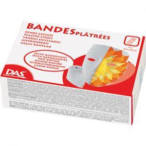 DAS - Bandas de Gesso DAS 8cmx3mts (4un)