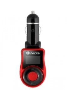 NGS - Transmissor FM Carro: MP3 USB SD / MMC AUX IN