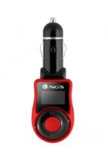 NGS - Transmissor FM Carro: MP3 USB SD / MMC AUX IN
