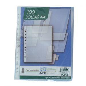 ROMA - Bolsa Catalogo A4 Liso 80 microns (Roma361) (Pack100)