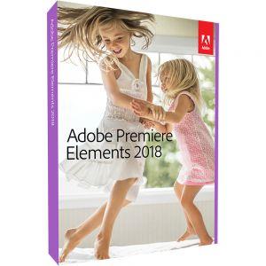 ADOBE - Premiere Elements 2018 - Licença - 1 utilizador - comercial, Consignação, indirecto - Download - ESD - Win, Mac - International English