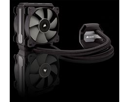 CORSAIR - Water Cooling, Hydro Series, H80i V2 Compatible with INTEL (LGA1155/1156, LGA1366, LGA2011) and AMD (AM2/AM2+, AM3/AM3+, FM1), 120mm x 42mm Radiator, Dual