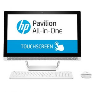 HP - Pavilion 24-b200np - Intel Core i5-7400T, 23.8P, 4GB DDR4, 1TB, Windows 10 Home