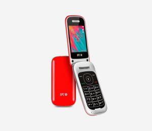 SPC - Telemovel 2319R Velvet Bluetooth Radio FM Vermelho