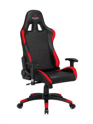 ALPHA GAMER - Cadeira Gaming Vega Black / Red