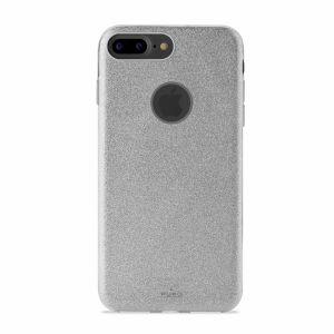 PURO - PC+TPU Shine Cover for iPhone 7 Plus Silver
