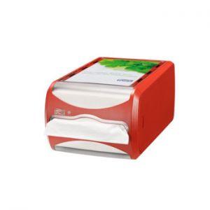 TORK - Dispensador p/400 Guardanapos N4 Vermelho