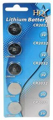 HITEC - Pilha de lítio CR2032 3V Pack5