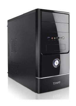 TOOQ - Caixa MINI TOWER TQC-4765U3-B MATX 500W USB3.0 Preto