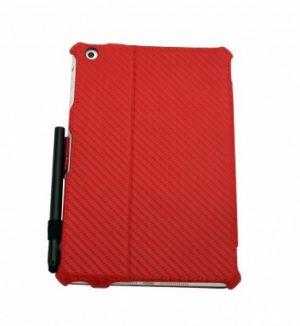 JIVO - Bundle for iPad Mini - includes Folio + Stylus Pen Red