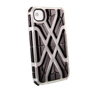 G-FORM - iPhone X - Ice Shell / Black RPT - CP1IP4005E