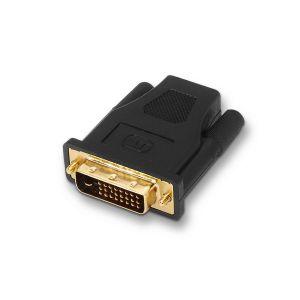 AISENS - ADAPTADOR DVI A HDMI 24+1M-HDMI - DOURADO/PRETO A118-0091