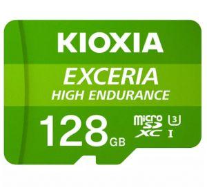 KIOXIA - MICRO SD 128GB EXCERIA HIGH ENDURANCE UHS-I C10 R98 COM ADAPTADOR