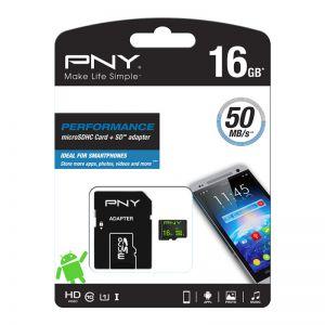 PNY - MICROSD 16GB C10 50MB/S
