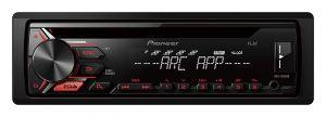 PIONEER - AUTO RADIO RDS ENTRADA CD USB FRONTAL ILUMIN. VERMELHO