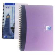 OXFORD - Caderno Espiral Oxford Office Book Capa PP A5 Pautado 90 fls