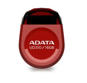 ADATA - DashDrive Durable UD310 Drive flash USB 16 GB USB 2.0 vermelho - AUD310-16G-RRD