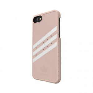 ADIDAS - MOULDED SUEDE IPHONE 7 (VAPOUR PINK/WHITE)