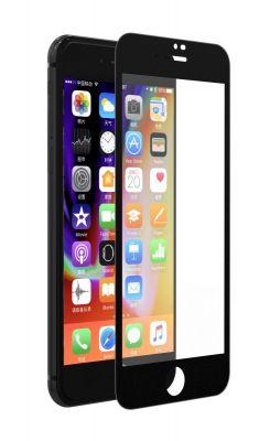 DEVIA - Proteção de Vidro Temperado para iPhone 7 Plus/8 Plus com Frente Preta