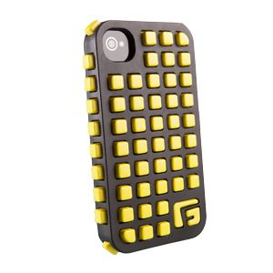 G-FORM - iPhone Square - Black Shell / Yellow RPT - CP2IP4004E