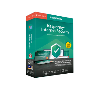 KASPERSKY - Internet Security 2020 2 Utilizadores 1 Ano + Carteira Anti-Roubo Contactless