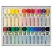 DONG-A - Lapis Oil Pastels Dooly Conjunto Mala Pvc com 24 cores
