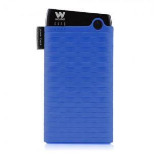 WOXTER - 6000 SR LITIO 6000MAH AZUL Bateria EXTERNA - PE26-126