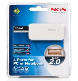 NGS - HUB 4 portas USB 2.0