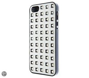 VCUBED3 - Metal Square iPhone 5 (white / silver)