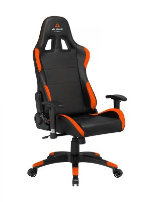 ALPHA GAMER - Cadeira Gaming Vega Black / Orange