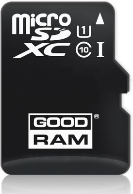 GOODRAM - 64GB microSDXC class 10 UHS I + adapter