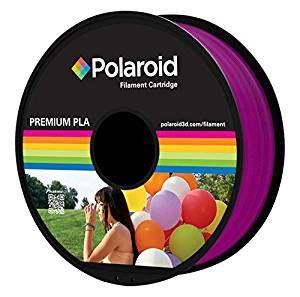 POLAROID - Filamento Polaroid Universal PLA 1.75mm 1Kg RoxoTransparente
