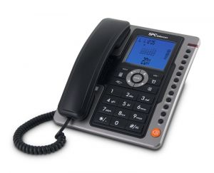 SPC - 3604N Telefone OFFICE PRO 7M ML ID LCD Preto