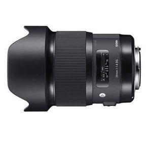 SIGMA - Objetiva 20mm/1.4 (A) DG HSM para Canon