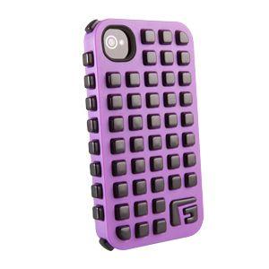G-FORM - iPhone Square - Purple Shell / Black RPT - CP2IP4008E