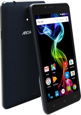 ARCHOS - 55B PLATINUM 3G 8GB BLACK - Quad core A7@4x 1.3GHz , 5.5P IPS hd 1280x720, ANDROID 5.1 Lilipop, Camara Back 8MP+2MP Front
