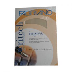 FABRIANO - Papel Natural A4 90gr Blister 50 Folhas Castanho Claro
