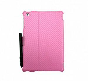 JIVO - Bundle for iPad Mini - includes Folio + Stylus Pen Pink - JI-1519