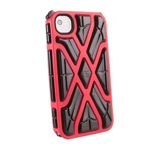 G-FORM - iPhone X - Red Shell / Black RPT - CP1IP4009E