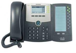 Cisco SPA500DS Estação com fios 30linhas LCD Preto telefone IP