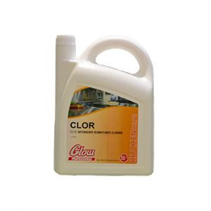 GLOW - Detergente Desinfetante Clorado p/Pavimentos 5 Litros
