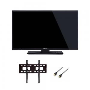 HITACHI - 32HBC01 (LED/32P/HD/USB/2xHDMI)+ Suporte F200 + HDMI 1.8m
