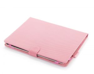 NGS - Capa Universal para Tablet 9P a 10P - Acabamento em borracha Rosa